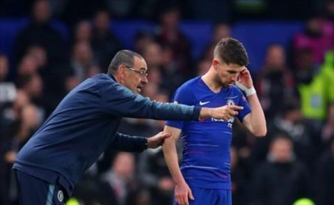 Jorginho nói về tương lai HLV Sarri ở Chelsea hình ảnh
