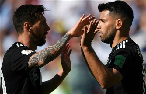 Messi va Aguero tai Argentina