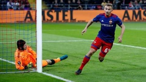 Arsenal muốn mua tiền đạo Fedor Chalov của CSKA Moscow hình ảnh