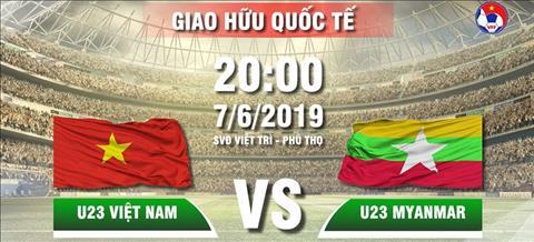 Link xem U23 Việt Nam vs U23 Myanmar trực tiếp bóng đá VTC1 VTV5 hình ảnh