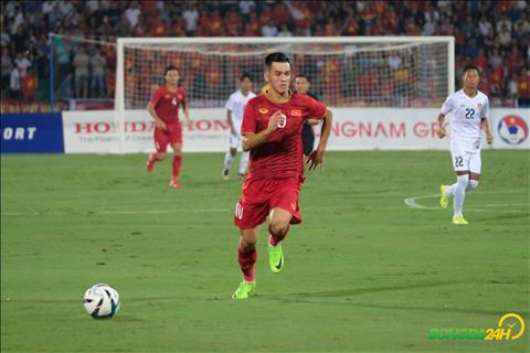 Tien Linh vs U23 Myanmar