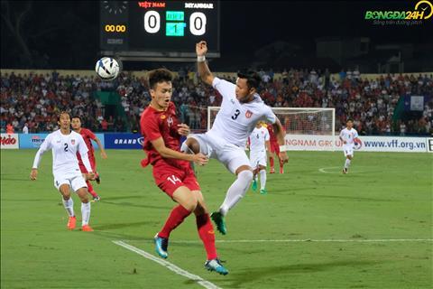 Hình ảnh Hoàng Đức trong trận gặp U23 Myanmar thi đấu ra sao hình ảnh
