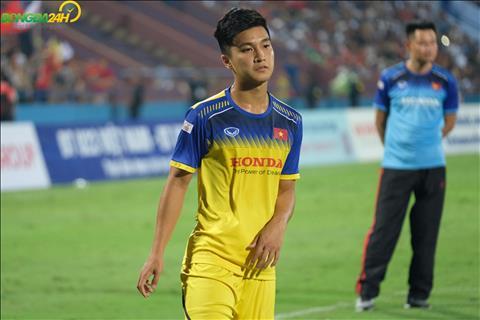Hình ảnh Màn trình diễn của Martin Lo trước U23 Myanmar hình ảnh