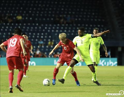 Việt Nam 1-1 (pen 4-5) Curacao (KT) Công Phượng sút hỏng luân lưu 11m, Việt Nam ngậm ngùi về nhì ở Kings Cup 2019 hình ảnh 3