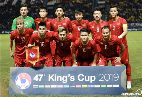 ĐT Việt Nam có được gần 1,3 tỷ đồng sau ngôi á quân Kings Cup hình ảnh