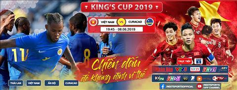 Link xem Việt Nam Curacao trực tiếp bóng đá Kings Cup VTC1 VTV5 hình ảnh