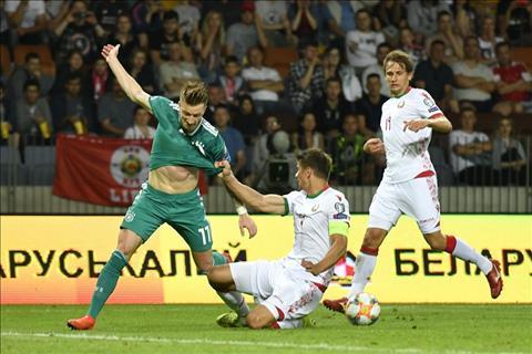 Belarus qua yeu nen khong the gay kho de cho nguoi Duc