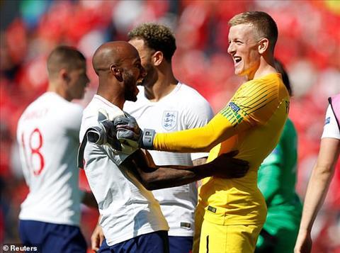 Thủ môn Jordan Pickford đóng vai người hùng trận Anh vs Thụy Sĩ hình ảnh