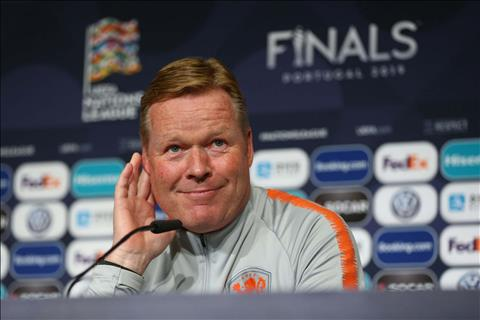 VIDEO HLV Koeman Hà Lan tiết lộ cách ngăn chặn Ronaldo hình ảnh