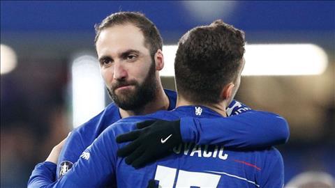 Chelsea quyết định tương lai Gonzalo Higuain hình ảnh