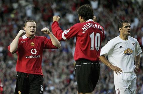 Wayne Rooney tiết lộ sự ngưỡng mộ với Van Nistelrooy hình ảnh