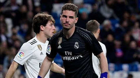 Luca Zidane rời Real Madrid ở Hè 2019 theo dạng cho mượn hình ảnh