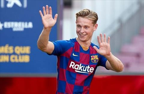 Frenkie de Jong toi Barca