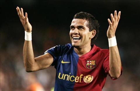 Dani Alves tai Barcelona