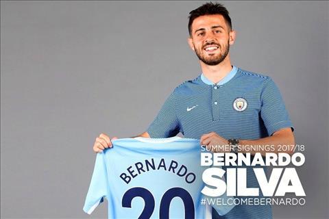 Nhung ban hop dong dat gia nhat lich su Man City Bernardo Silva