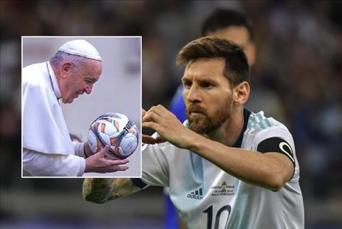 Lionel Messi duoc Vatican vinh danh tam guong giao duc o Copa America 2019