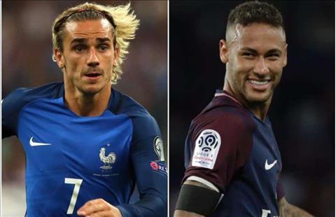 Griezmann bàng quan về vụ mua lại Neymar của chuyển nhượng Barca hình ảnh