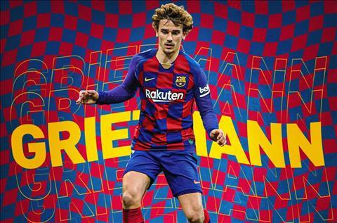Tiền đạo Griezmann chính thức gia nhập Barca từ Atletico Madrid hình ảnh