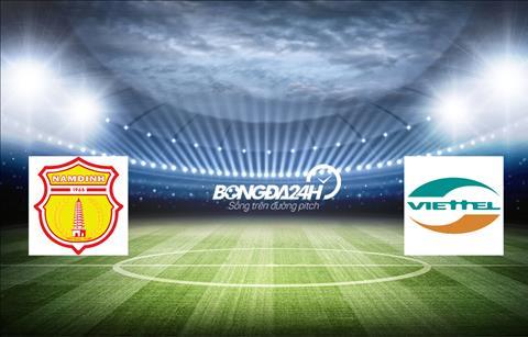 Nam Định vs Viettel Link xem trực tiếp bóng đá V-League 2019 hình ảnh