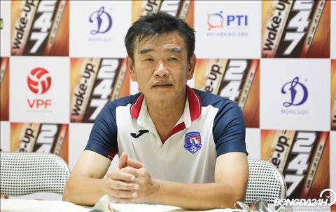 HLV Phan Thanh Hùng lo lắng thể lực của cầu thủ Than Quảng Ninh hình ảnh