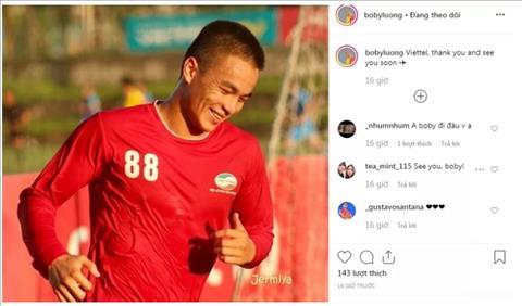 Boby Lương Nguyên Bảo chia tay V-League vì không có quốc tịch hình ảnh