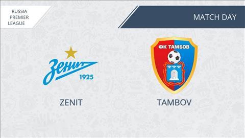 Zenit vs Tambov 23h00 ngày 147 (VĐQG Nga 201920) hình ảnh