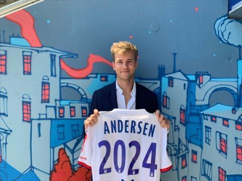 Từ chối Arsenal, Joachim Andersen cập bến Lyon hình ảnh