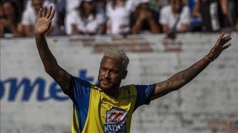 Ngôi sao Neymar tiếp tục thách thức đội bóng chủ quản PSG hình ảnh