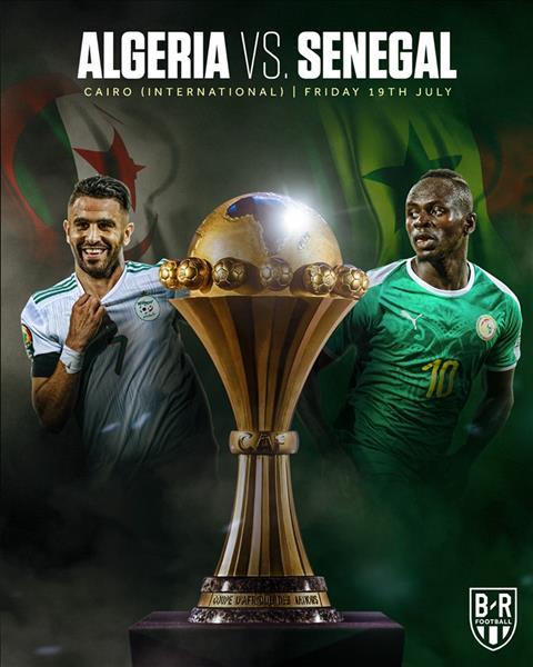 Algeria vs Senegal chung ket CAN 2019