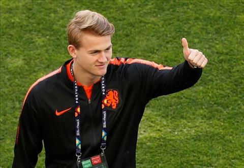 Barca lên kế hoạch cuỗm trung vệ De Ligt khỏi tay Juventus hình ảnh