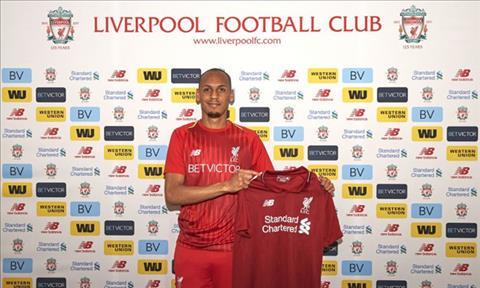 Fabinho gia nhap Liverpool