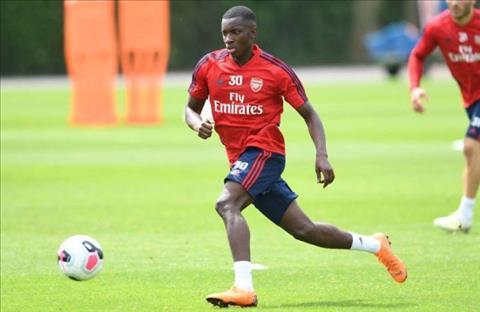 Arsenal tính để Eddie Nketiah ra đi dưới dạng cho mượn hình ảnh
