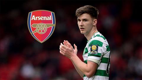 Arsenal quyết tâm mua hậu vệ Kieran Tierney của Celtic hình ảnh