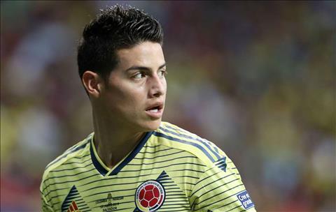 Atletico công khai ý định chiêu mộ tiền vệ James Rodriguez hình ảnh