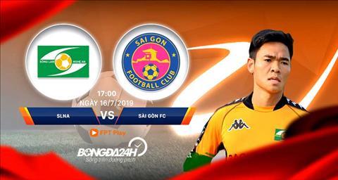 SLNA vs Sài Gòn trực tiếp bóng đá vòng 16 V-League chiều nay  hình ảnh