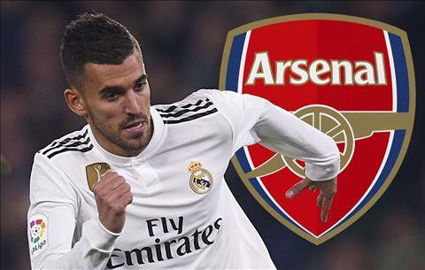Arsenal muốn mượn Dani Ceballos từ Real Madrid hình ảnh