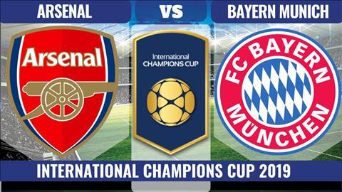 Arsenal vs Bayern Munich 10h00 ngày 187 (ICC 2019) hình ảnh