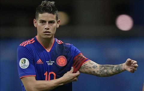 Chuyển nhượng Atletico xác nhận chưa đàm phán với James Rodriguez hình ảnh