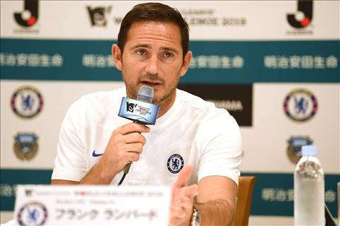 VIDEO Frank Lampard tự tin bất chấp lệnh cấm chuyển nhượng hình ảnh
