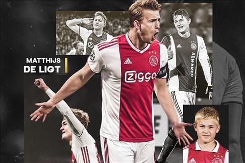 VIDEO Bản CV hoành tráng Ajax tặng De Ligt nhân ngày cập bến hình ảnh
