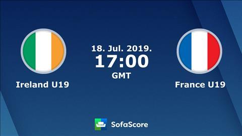 U19 Ireland vs U19 Pháp 0h00 ngày 197 (VCK U19 châu Âu 2019) hình ảnh