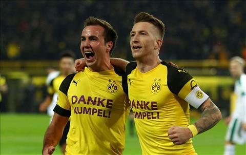 Marco Reus thất vọng khi Mario Gotze bỏ Dortmund sang Bayern hình ảnh