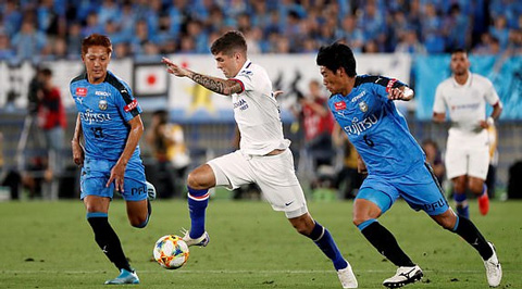 Kawasaki Frontale 1-0 Chelsea Tân binh Pulisic ra mắt, The Blues thua sốc tại Nhật Bản hình ảnh 2