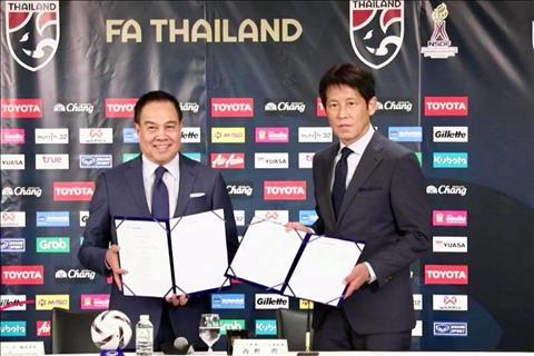 LĐBĐ Thái Lan ký hợp đồng với HLV Akira Nishino hình ảnh