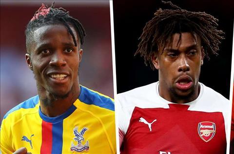 Alex Iwobi rời Arsenal nếu HLV Emery đưa về Zaha hình ảnh