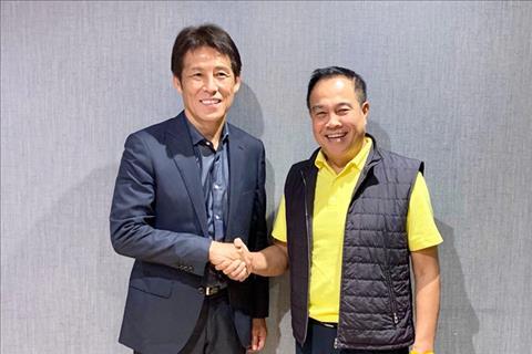 Thái Lan chính thức bổ nhiệm HLV Akira Nishino từng dự World Cup hình ảnh