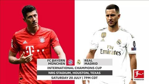 Bayern Munich vs Real Madrid 7h00 ngày 217 (ICC 2019) hình ảnh