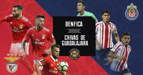 Benfica vs Chivas Guadalajara 3h00 ngày 217 (ICC 2019) hình ảnh