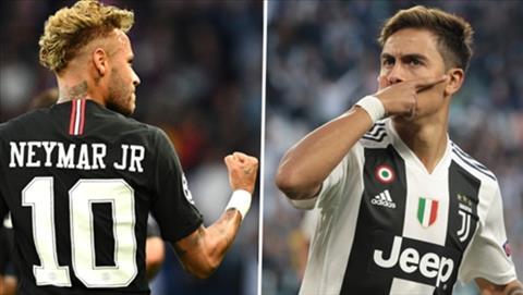 PSG muốn mua tiền đạo Dybala thay Neymar hình ảnh