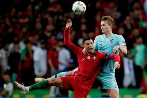 Cristiano Ronaldo nói về trung vệ De Ligt hình ảnh
